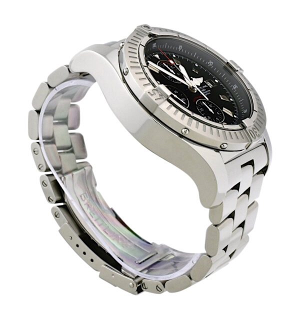 Breitling Super Avenger A13370 black dial