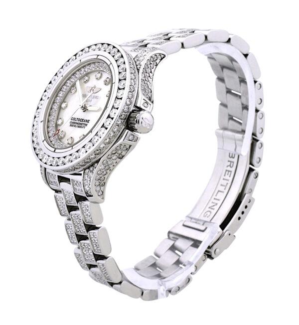 Ladies Breitling Colt Diamond Watch
