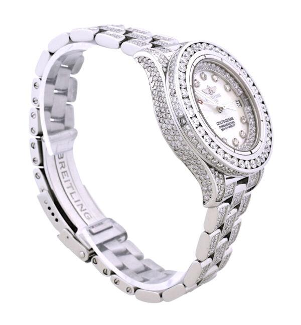 Ladies Breitling diamond watch