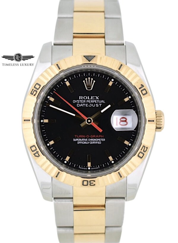 Rolex turn-o-graph 116261 rose gold for sale