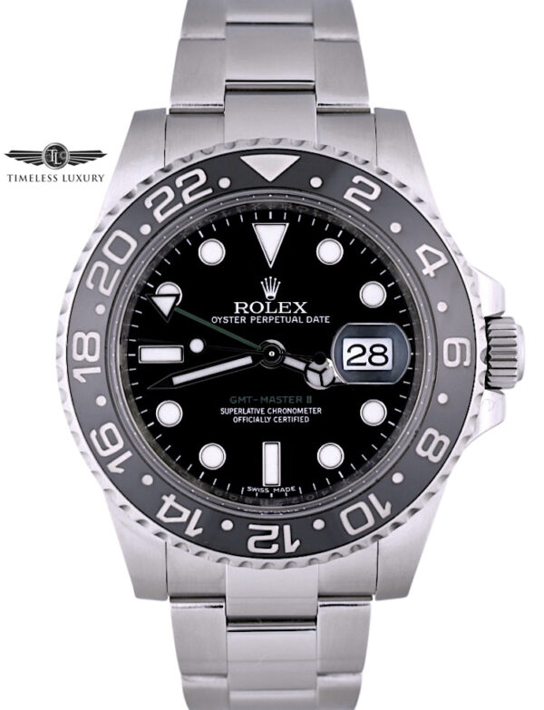 Rolex GMT-Master II 116710LN for sale