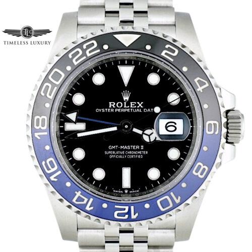 2020 Rolex GMT-Master 126710BLNR