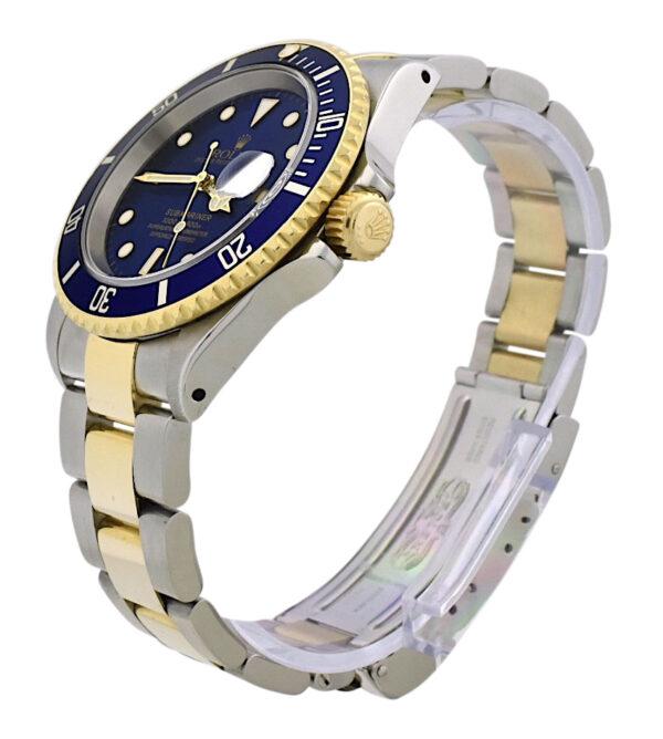 2000 Rolex submariner 16613 blue dial