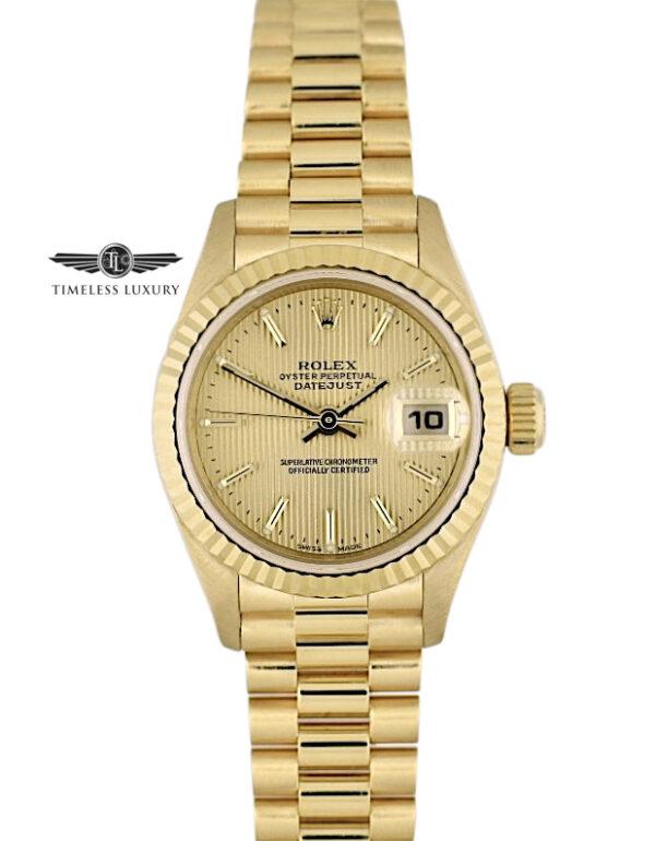 Ladies Rolex president 79179