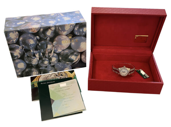 2001 Ladies Rolex president 179179 white gold for sale