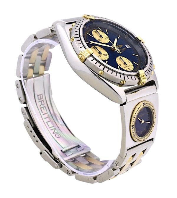 Breitling Chronomat B13048 UTC blue dial