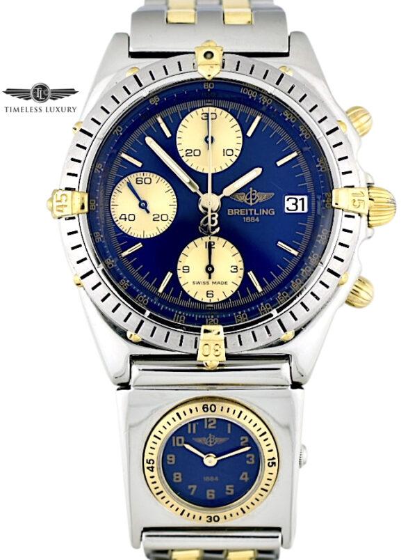 Breitling chronomat B13048 UTC module watch