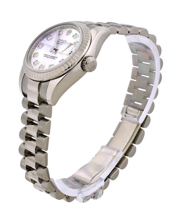 Rolex president 179179 pink mop dial