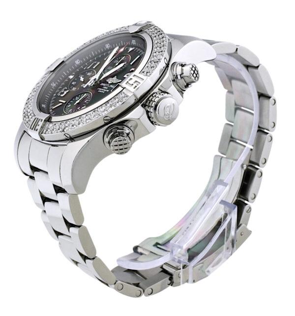 Breitling super avenger A13371 diamond bezel