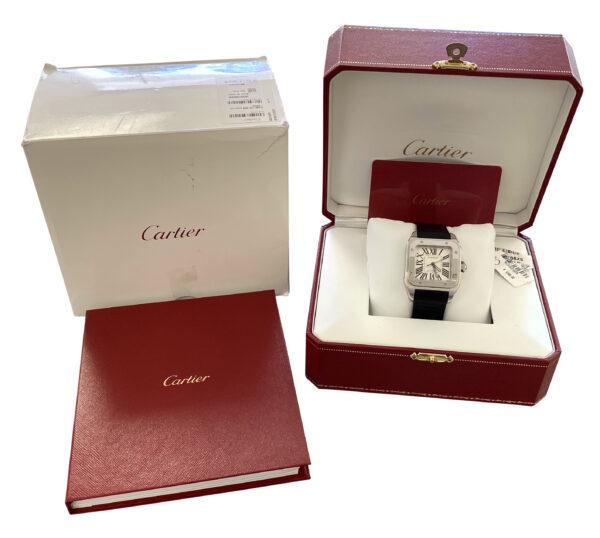 2020 Cartier Santos 100 Midsize W20106X8 for sale