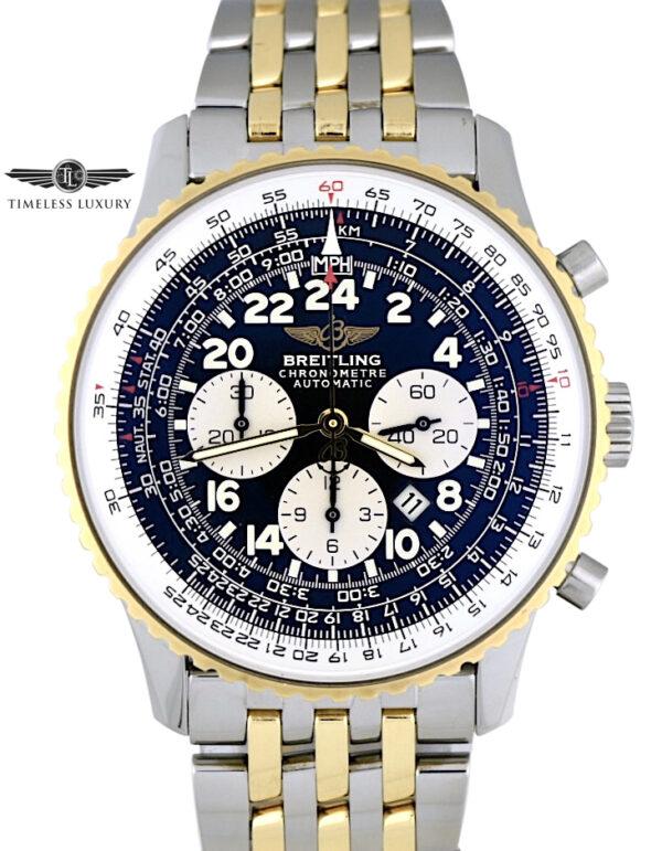 Breitling Navitimer Cosmonaute D22322 Steel & 18k Gold