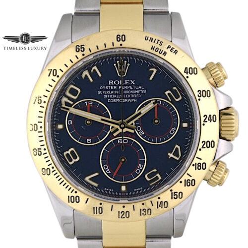 Rolex Daytona 116523 Blue dial for sale