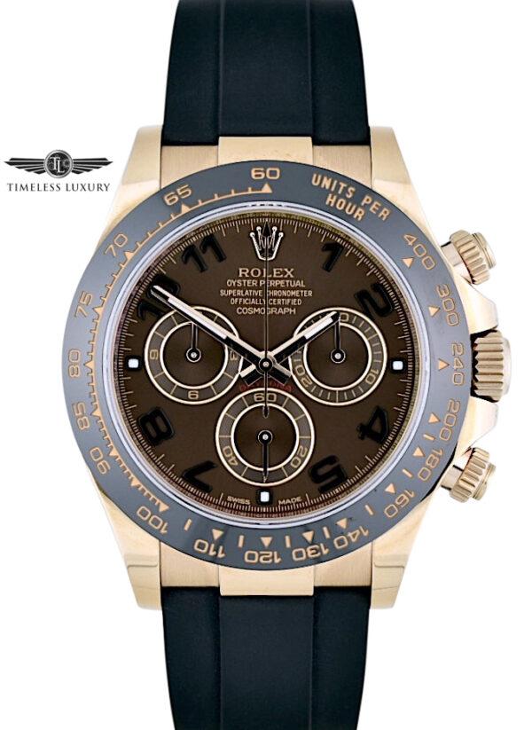 2019 Rolex Daytona 116515LN Chocolate dial