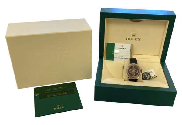 NEW Rolex daytona 116515ln chocolate dial for sale