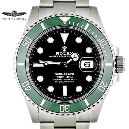 2021 Rolex Submariner 126610LV green bezel