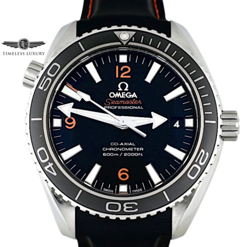 Omega seamaster planet ocean 42mm orange numbers