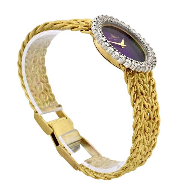Ladies Baume & Mercier Gold Lapis watch