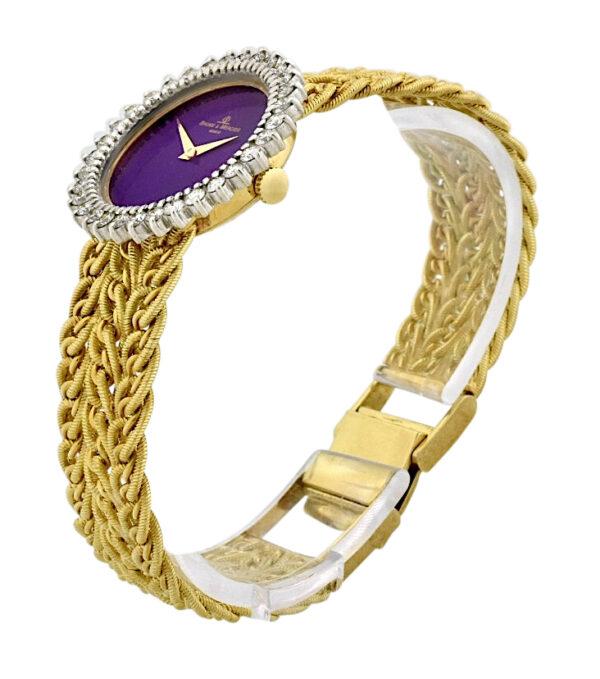 Ladies Baume & Mercier Lapis Dial watch