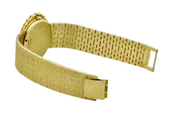 Piaget 18k yellow gold tiger eye watch