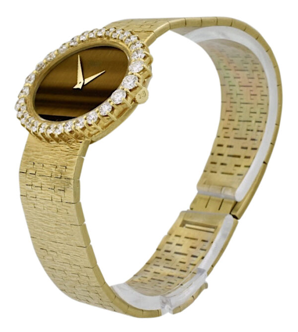 Piaget Tiger eye diamond watch