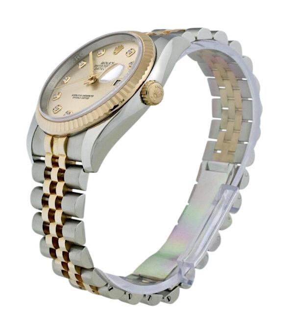 Rolex datejust 116231 pink diamond dial