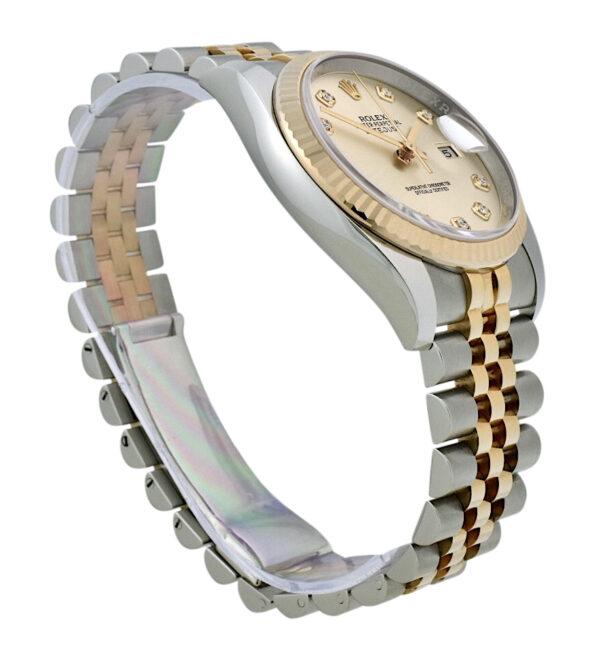 Rolex datejust 116231 diamond dial
