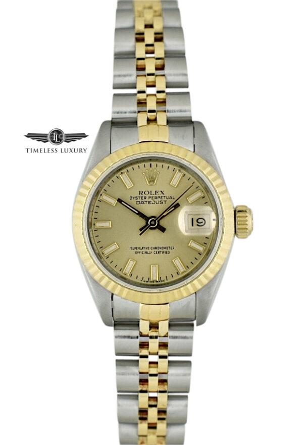 1989 Ladies Rolex Datejust 69173