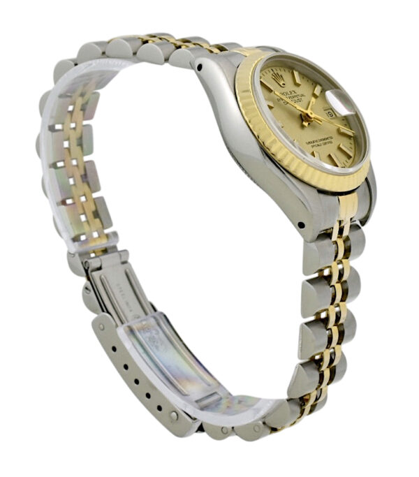 Ladies Rolex Datejust 69173 Champagne Dial