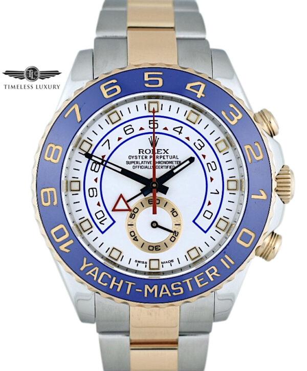 Rolex Yacht-Master II 116681 Steel & rose gold