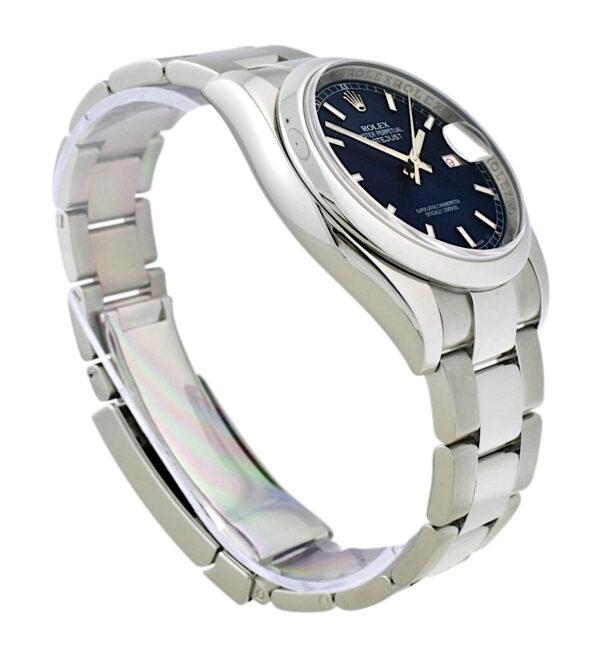 Rolex datejust 116200 blue dial
