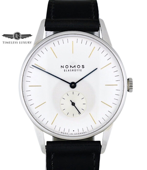 NOMOS Orion 38 Stainless steel 384