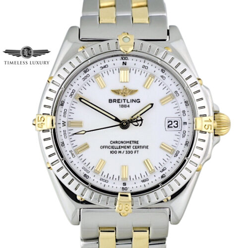 Breitling Wings B10350 Steel & gold
