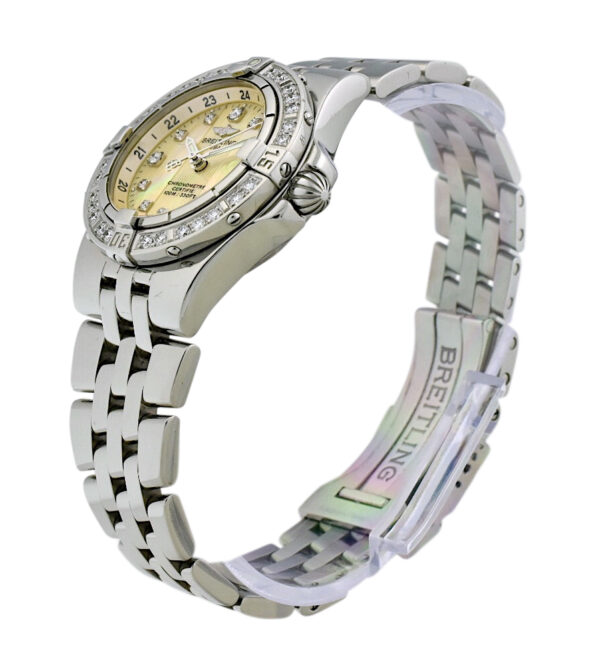 Ladies Breitling starliner a71340