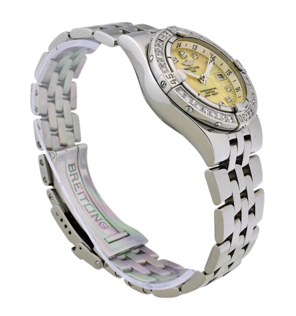 Ladies Breitling starliner diamond watch
