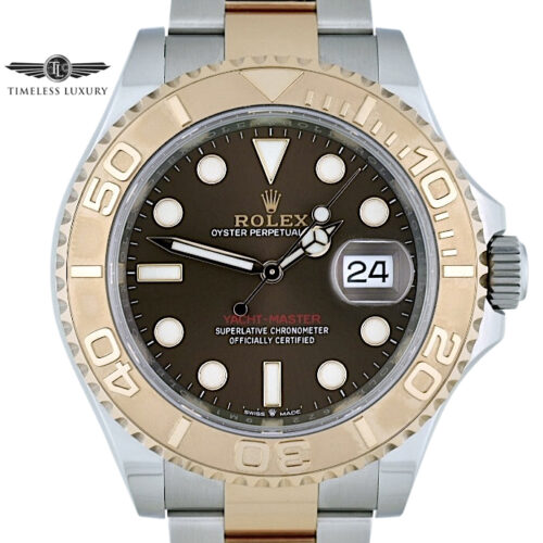 2020 Rolex Yacht-Master 126621 brown dial