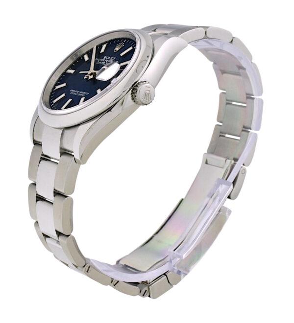 2021 Rolex Datejust 36 126200 blue dial