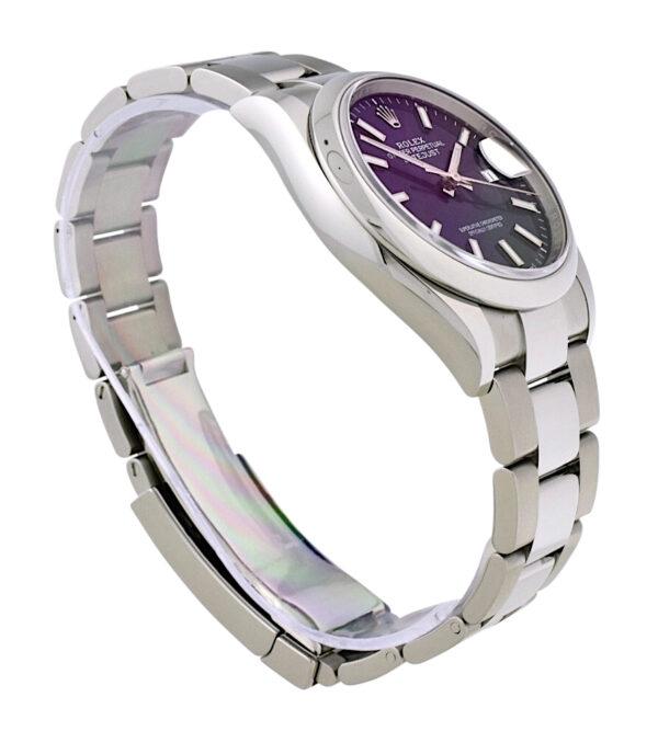New rolex datejust 126200 blue dial