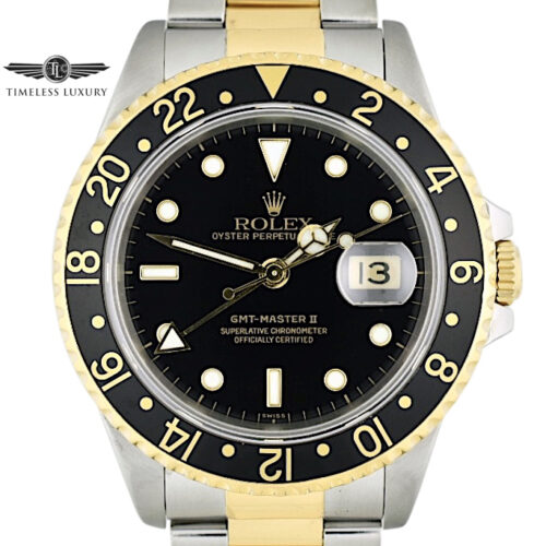 1991 Rolex GMT-Master II 16713 Steel & 18k Gold