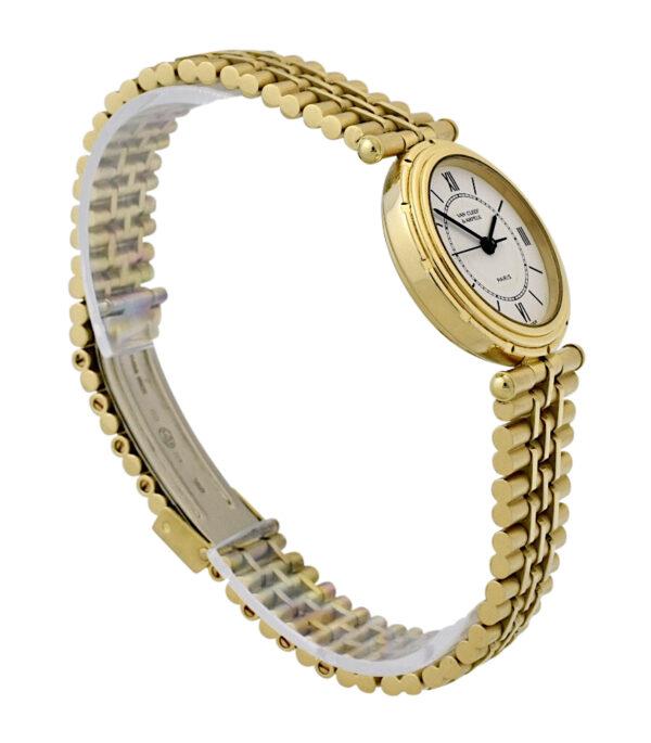 Van Cleef & Arpels La Collection gold watch