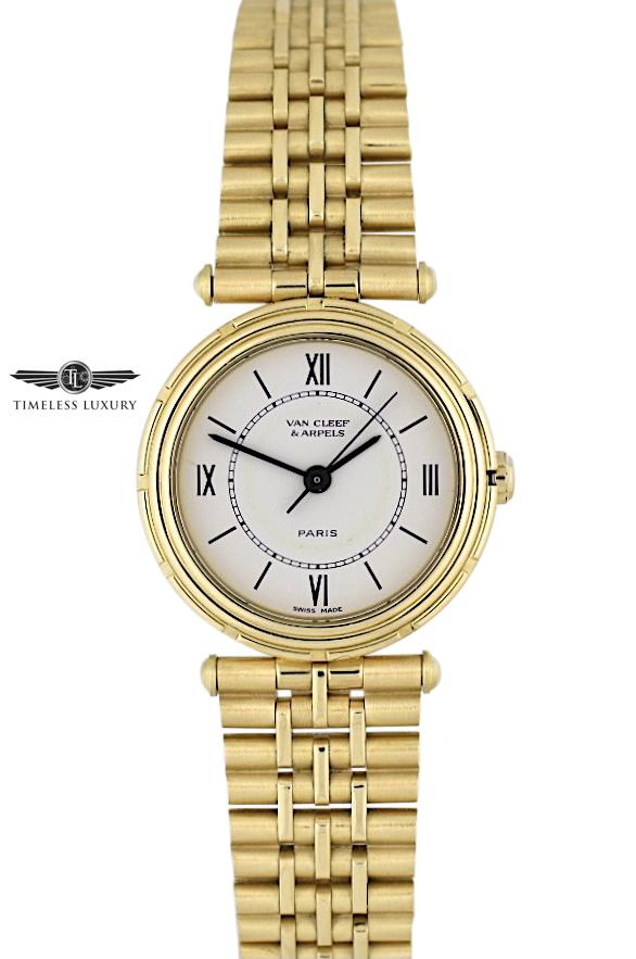 Van Cleef & Arpels La Collection 16603 18k Gold 25mm watch