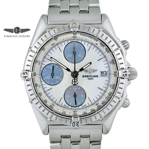 Breitling Chronomat A13050 39mm Mother of Pearl Dial