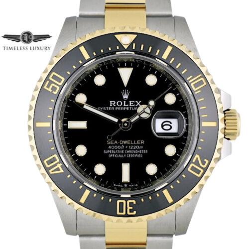 Rolex Sea-Dweller 43mm 126603 Steel & 18k gold