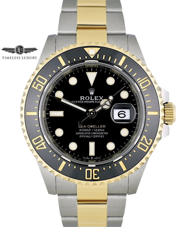 Rolex Sea-Dweller 43mm 126603 Steel & 18k gold