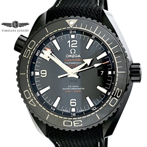 OMEGA Seamaster Planet ocean deep black ceramic