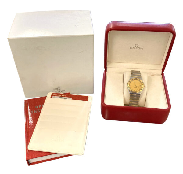 OMEGA Constellation automatic 1202.10.00 steel & gold
