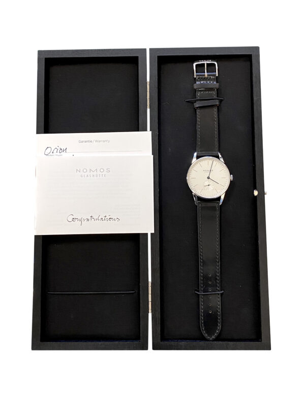 New Nomos Orion 38 Stainless steel 384 for sale