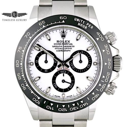 2020 Rolex Daytona 116500LN White Dial