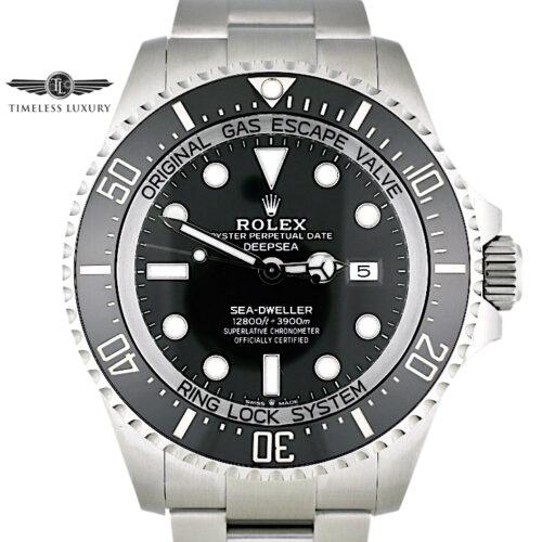 2021 Rolex Sea-Dweller Deepsea 126660 Black Dial