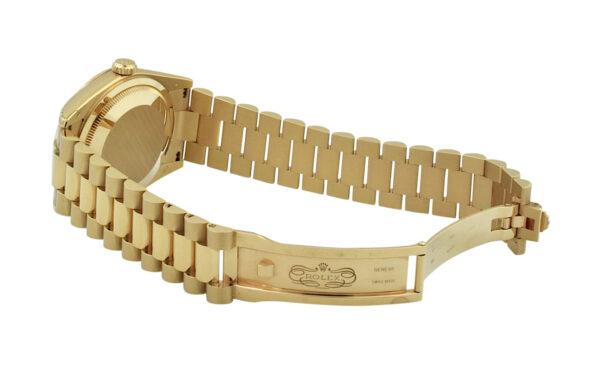 Rolex President 118235 rose gold white dial
