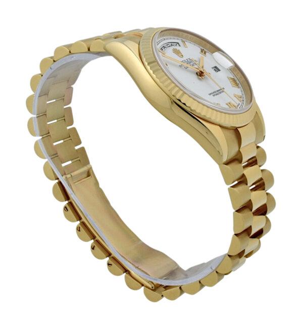Rolex President 18k rose gold 118235